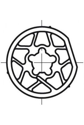Somfy roue LT 60 tube108x4 (so 9420307)