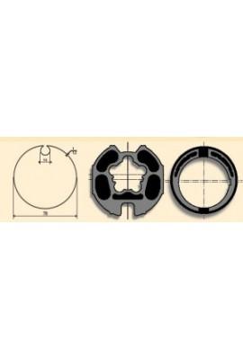 SOMFY Jeu LT 60 tube ø 78 à goutte ronde de 14 mm (SO 9420326)