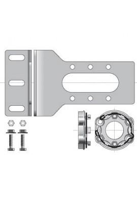 SOMFY Equerre LT50/60 fixation mur ou plafond (9420602)