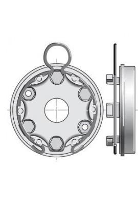 Somfy support moteur universel anneau à boucle (so 9420624)