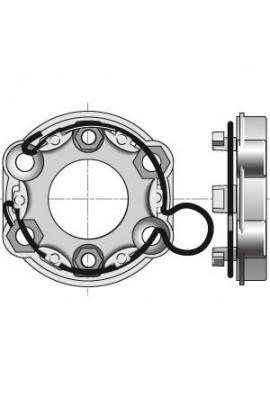 Somfy support moteur universel diam 50/60 anneau à boucle (so 9420644)
