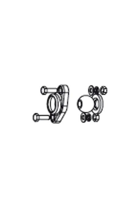 Somfy sabot avec rotule alésage diamètre 12mm (so 9430610)