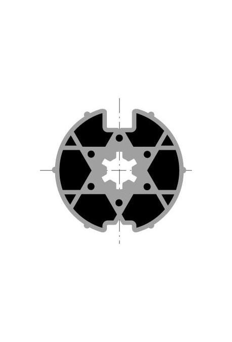 Somfy (x10) Roue pour moteur diamètre 40 tube Welser 63 (so 9500341)