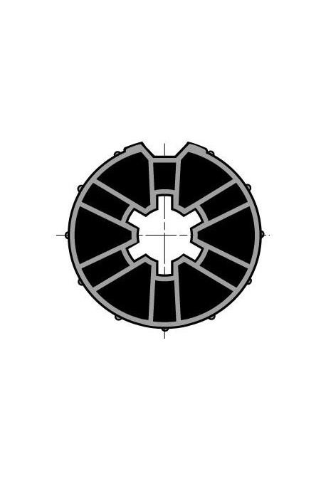 Somfy (x10) Roue pour moteur diam.40 tube diam.48 (so 9500343)