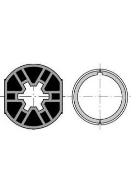 Somfy Jeu de roue et couronne pour moteur LS 40 tube ø 40 x 1,5 (SO 9500411)