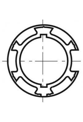 Somfy couronne LT 50/60 tube diam.89x2 (so 9520312)