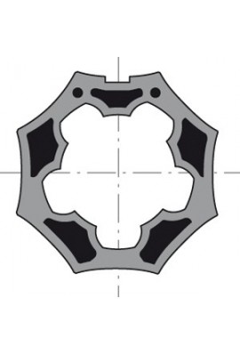 Somfy roue LT 50 tube Selve Gaviota octo 50 (so 9705344)