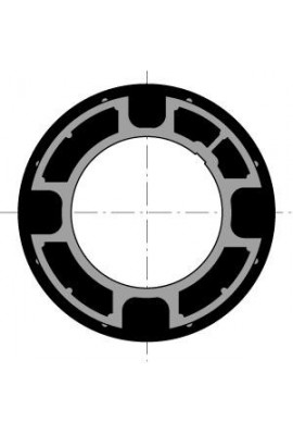 Somfy couronne moteur diam.50 tube Dohner 78 goutte 12 (so 9707027)