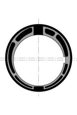 Somfy Couronne moteur diam.60 tube 78 goutte ronde 12 (so 9707639)