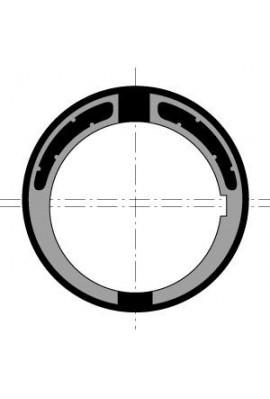 Somfy Couronne moteur diam.60 tube 78 goutte ronde 14 max (so 9707640)