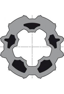Somfy roue LT 50 tube Imbac diam 50 (so 9751004)
