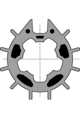 Somfy roue LT 50 Dôhner-Imbac 70 à goutte ronde (so 9751005)