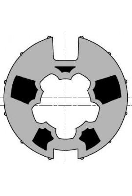 Somfy roue moteur diam.50 tube Dôhner 70 goutte diam.13 (so 9751010)