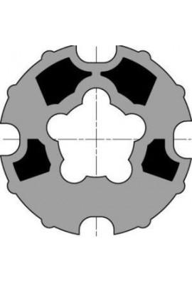 Somfy roue moteur diam 50/60 tube dohner 78 goutte 12 (so 9761001)