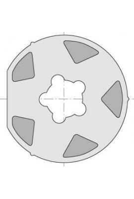 Somfy roue LT 60 tube octo 102x2,5 (so 9761013)