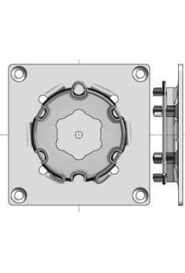 SOMFY Plaque support LT50/LT60 à visser ou à souder (9763503)