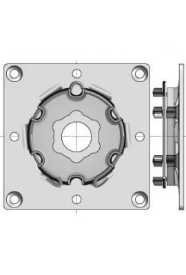Somfy plaque support à visser diamètre 50 et 60 (so 9763508)