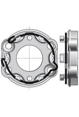 Somfy support universel taraudé pour moteur de volet roulant (so 9910001)