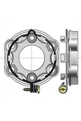 Somfy support moteur universel anneau verrouillable (so 9910003)