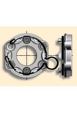 Somfy Support universel avec anneau d'arrêt à boucle (so 9910009)