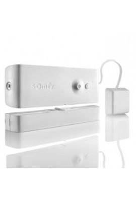 Somfy alarme : détecteur d'ouverture et bris de vitre Blanc (so 2400931) détecte la vibration exercée sur la vitre lors d?une te