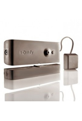 Somfy alarme : détecteur ouverture bris de vitre marron (SO 2400932)