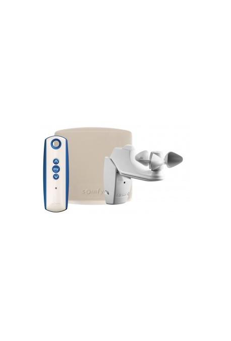 Somfy Ensemble Eolis RTS (so 1816065) pour rénover une installation filaire en installation radio RTS et apporter une protection