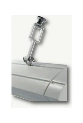 Somfy Fixation de rampe pour store monobloc (so 9015332) Fixation pour rampe de chaufage ou d'eclairage sur store monobloc au ma