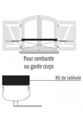 Somfy plus-value kit de fixation latérale -(sortie axe vers le bas)