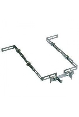 Somfy kit de fixation plafond pour dexxo pro 3S (so 9014462) pour hauts plafonds de garage, permet de rallonger la hauteur de fi