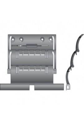 SOMFY Attache rigide de tablier de volet roulant ZF 2 maillon pour lames de 14 mm (SO 9410807)