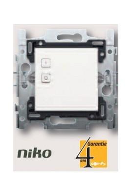 SOMFY Interrupteur simple avec récepteur lumière intégré io niko (SO 9017222)