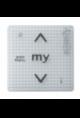 Somfy commande murale tactile Smoove Uno IB+ Pure (so 1811203)