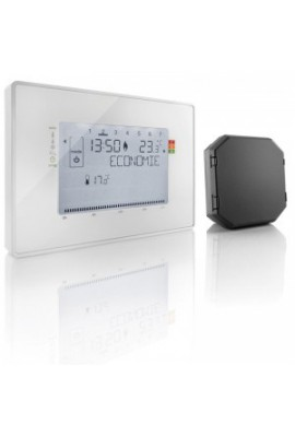 Somfy Thermostat programmable radio contact sec avec 1 récepteur inclus (so 2401242)