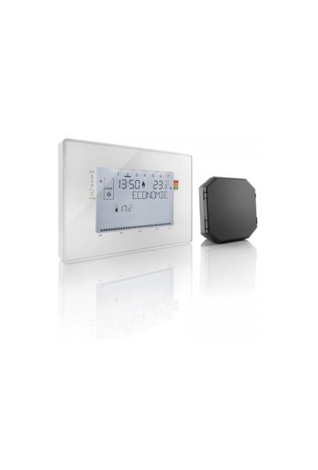Somfy Thermostat programmable radio contact sec avec 1 récepteur inclus (so 2401242)