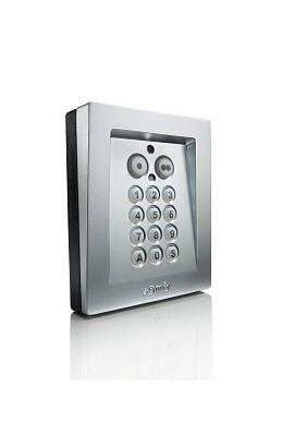 Somfy clavier à code métal radio io (SO 1841193) compatible avec les motorisations de portails et de portes de garage somfy io